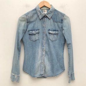 H&M Denim Shirt EUC 4